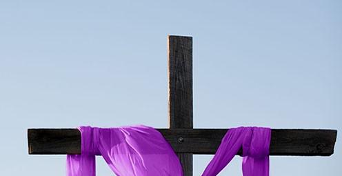Lenten cross